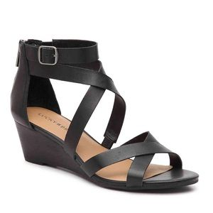 Lucky Brand Jinela Wedge Sandals NEW $79